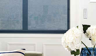 Denim Electric Roller Blind